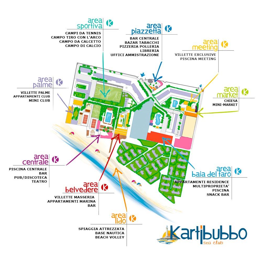 Mappa di Kartibubbo