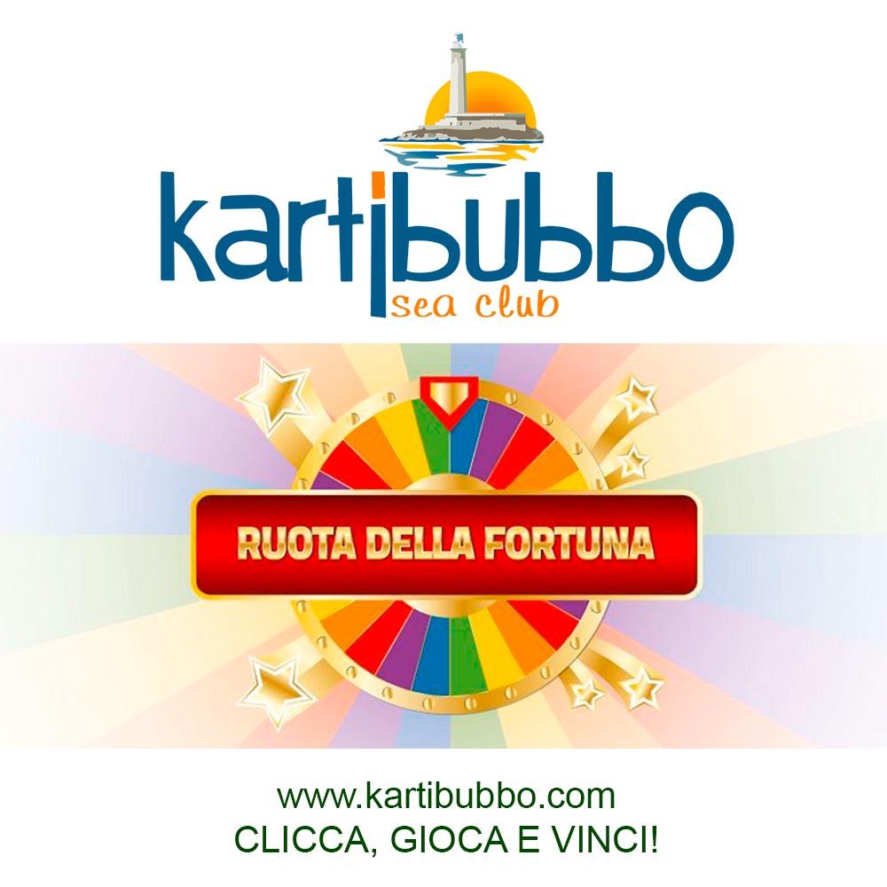 Gioca alla ruota della fortuna di Kartibubbo